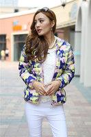 Free shipping Korean version Women Slim Down Jacket Cotton Padded camouflage Winter Coat Warm Hooded Parka