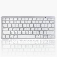 2014 New Bluetooth Wireless Russian Keyboard for Apple MacBook Air Pro iMac-White bluetooth keyboard wireless keyboard