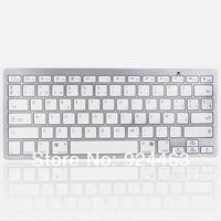 2014 New Bluetooth Wireless Spanish Keyboard for iOS Android Windows Mac OS Linux wireless keyboard