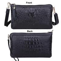 Genuine Leather Women Bag Fashion Women Handbag Alligator Embossed Crocodile Women Messenger Bags Clutch HB-174