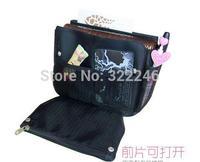 10pc/lot Factory Sale Fashion  cosmetic case  make up bag  beauty bag 5 color 20*15.5*7cm  KB918-10