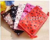 20pc/lot Factory Sale Fashion Love heart cosmetic bag make up bag  beauty bag  18*9cm  KB918-13