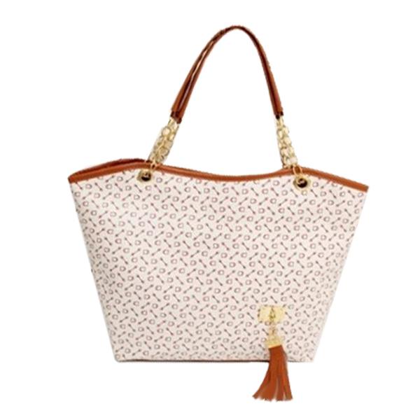 new 2014 Famous brands channel bag designer women's leather handbag/Fashion tassel bag shoulder bag/Bone flower Handbag Z5(China (Mainland))