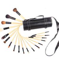18 PCS  Professional Makeup Brush tools Make-up Toiletry Kit Metal Brand Make Up Brush Free Shipping Z628