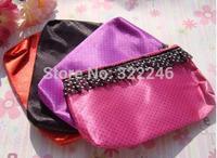 24pc/lot Factory Sale Fashion Lace decoration cosmetic bag make up bag  beauty bag  19*11cm  KB918-12