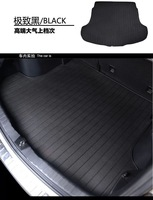 free shipping tpe material car trunk mat for audi A8/A4/Q5