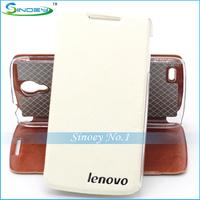 Free shipping Lenovo S820 Case Original PU Filp Leather Cover Case for Lenovo S820