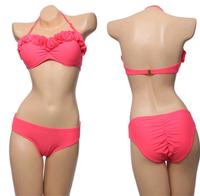 2014 NEW Fashionable Floral Bikinis Bathing Suit Women Swimsuit Ladies Swimwear Hot Push up Bikini set Sexy Swimwears Swimsuit
