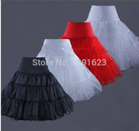 2014 Elastic Waist Wedding Bridal Dress Petticoat Underskirt Crinoline Wedding Gown Dress 4 Colors EB24