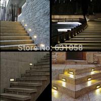 Arrow Steel Mesh recessed led Street lighting,3w outdoor waterproof illumination for Pathway Path Step Stair Wall Garden Yard