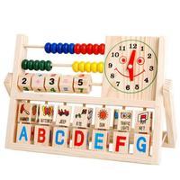 Preschool children learn to calculate shelf educational toys versatile flap