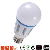 1PCS/lot E27 LED light SMD5730 bulb lamp High brightness bulbs 4W 6W 9W 12W 15w AC220V 230V 240V Cold white/warm white