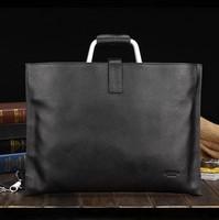 2014 New Fashion Cowhide Men Business Bags Genunie Leather Male Laptop Bags Brand Men Shoulder Bags 2012-34