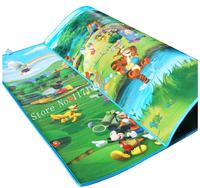 New Arrive Doulble-Site Forest And River Kids Play Mat 2*1.8 Cartoon Child Beach Mat Picnic Carpet Baby Crawling Mat PX002