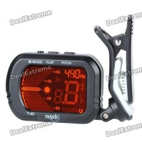 Universal Clip Tuner for Guitar (1 x CR2032)