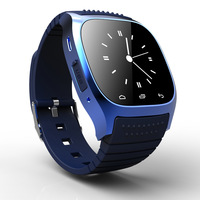 FreeshippingElectronic 2014 New Bluetooth Watch M26 with Dial / SMS Reminding / Music Player / Thermometer for Samsung / HTC.