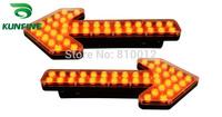 2014 New Emergency Warning Traffic Advisor Vehicle Strobe Light LED Traffic Warning Light Flash Light  KF-TA001