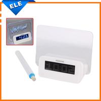 Led alarm clock with Message Board Calendar thermometer lazybones digital Alarm Clock