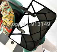2014 new Europe and America zipper leisure fashion women summer handbags cell phone pocket interior zipper pocket girls bags