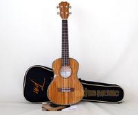"""Tom Ultrathin Guitar Ukulele TUT-300TN Zebra Series 26"""" Ukelele Free Shipping"""