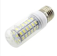New Arrive 56LEDs SMD 5730 12W LED corn light bulb lamp 220V-240V E27 5730SMD led bulb Warm white /white,free shipping,10pcs/lot