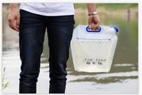 360 Global Outdoor multifunction food grade PE material folding bucket Outdoor drinking water bag Camping Equipment