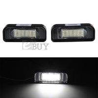 20pairs/LOT18 LED 3528 SMD License Plate Light Lamp for BENZ S-Class W220 (1999-2005)