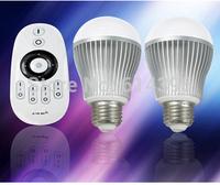 2.4G single color brightness adjustable LED bulb , dimmerable led bulb