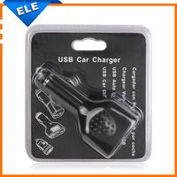 5V 2.1A 4 port USB Car Charger spliter 12V car charger Socket adapter