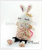 Free shipping Love sleeping beauty rabbit plush cloth art the three-dimensional cartoon children shoulder bag