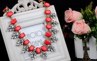 Fashion Jewelry 2014 Europe and America Bohemia joker female rhinestone pendant necklace