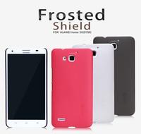 New Original Nillkin Huawei G750 Honor 3X Case, 3 colors Cover Super Plastic Matte Case + Screen Protector Film, Free shipping