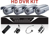 8CH cctv dvr Surveillance System 1200TVL outdoor indoor security Cameras P2P CMS mobile view
