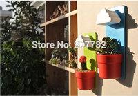 Rainy Pot / Wall-hung Flowerpot / Wall-hung Cloud Flowerpot