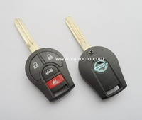 for Nissan 2014 year new Sunny , Tiida , Sylphy 4 button remote key 433mhz