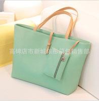 Korean fashion casual shoulder bag large hand handbag factory direct wholesale trade explosion models selling special bags