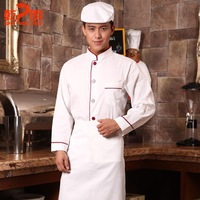 hotel  chef restaurant chef serving long-sleeved clothing chef uniforms kitchen sleeved clothes for men and women