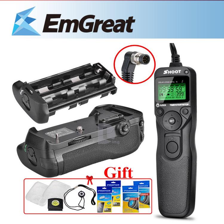 Батарейный блок для фотокамеры Meirkergr Nikon D800 D800e + LCD + mastering the nikon d800
