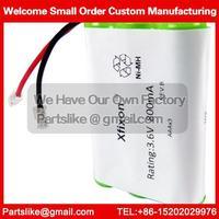 Cordless Home Phone Battery 2.4V 800mAh battery For Panasonic P102 Compatible