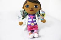 New Coming Doc McStuffins Doctor Girls Plush Toys Stuffed Dolls Brinquedos cartoon toys 32cm