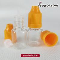 50pcs PET 10ML Plastic Dropper Bottle With Childproof Cap & Tip, Plastic Bottles, E Liquid Bottle, E juice bottle