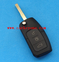 High quality 3 button remote key for Ford Focus 433 MHZ 4D63 chip free shipping