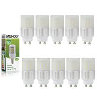 MENGS 10Pcs per pack GU10 5W LED Light 50x 3014 SMD LEDs LED Bulb in Warm/ Cool White Energy-saving Lamp