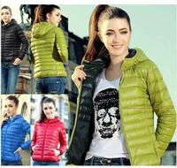 2014 winter down jackets women's casual cotton coat