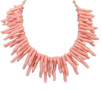 Europe and the United States major suit exaggerated personality coral woman's Necklace!@108293