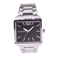 CURREN Brand Men's sStainless Steel Watch, Waterproof Men All Steel Watch, Quartz Watch