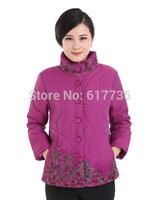 Good quality ! winter plus size cotton-padded jacket warm women parka jacket loose cotton padded loose coat