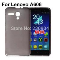 Soft transparent TPU Phone Case Cover For Lenovo A606