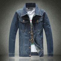 Plus Size M-5XL 2014 autumn new men's casual denim jackets Classic retro mens Cowboy jacket High quality man the jean coat