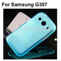 Soft transparent TPU Phone Case Cover For Samsung G357